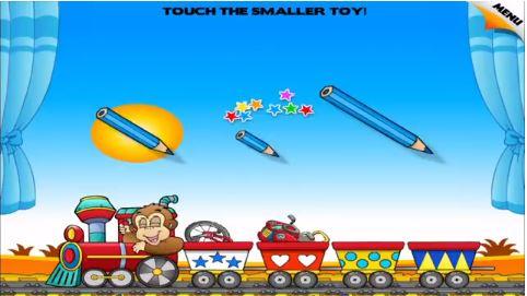 Size comparison games