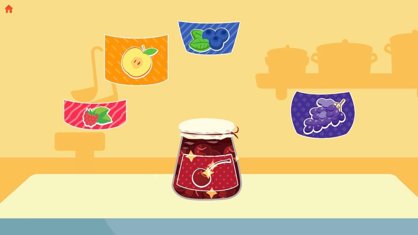 Labeling the jam jars