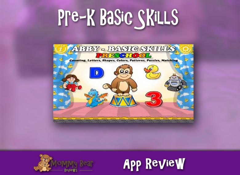 Pre-K Basic Skills App Review