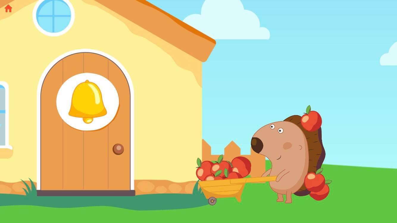 kids puzzle game apple jam