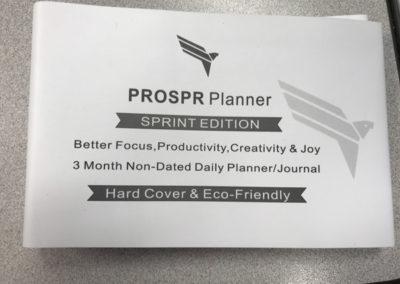 Prospr Planner Sprint Edition Features