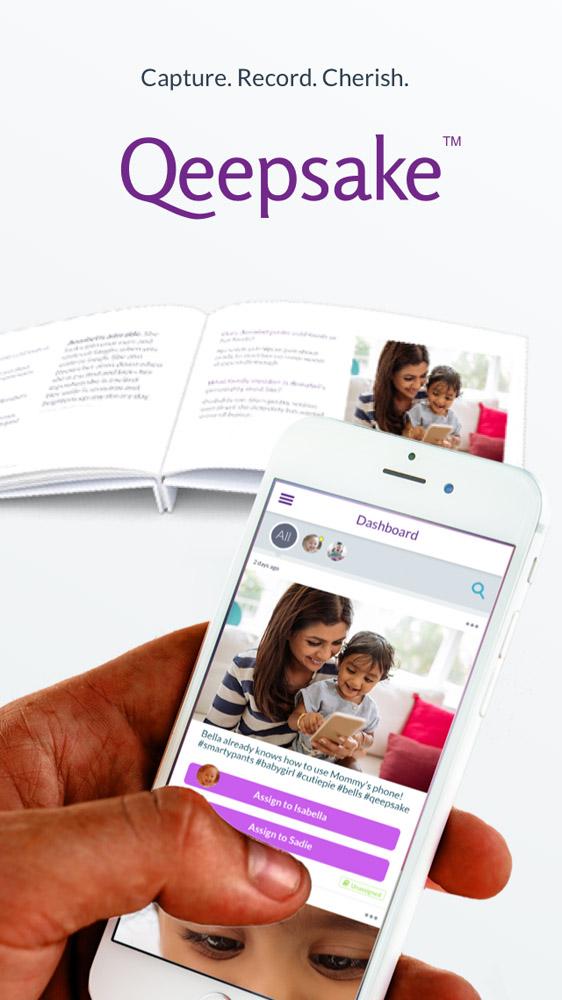 Qeepsake Book and App