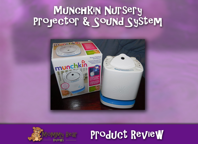 Munchkin nursery Projector review