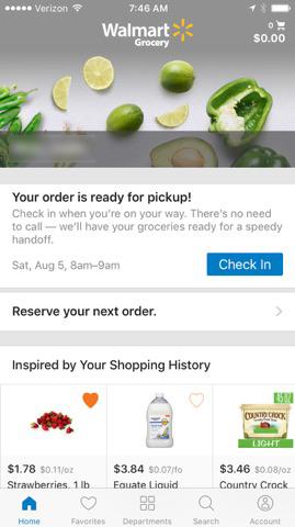 walmart grocery app