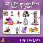 4+ star rating 2017 Christmas Toys