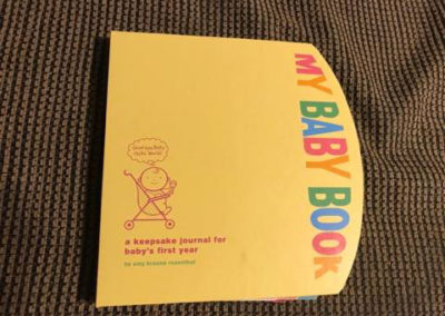 My Baby Book: A Keepsake Journal by Amy Rosenthal