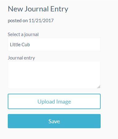 New Qeepsake Journal entry