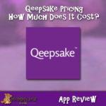 Qeepsake Costs