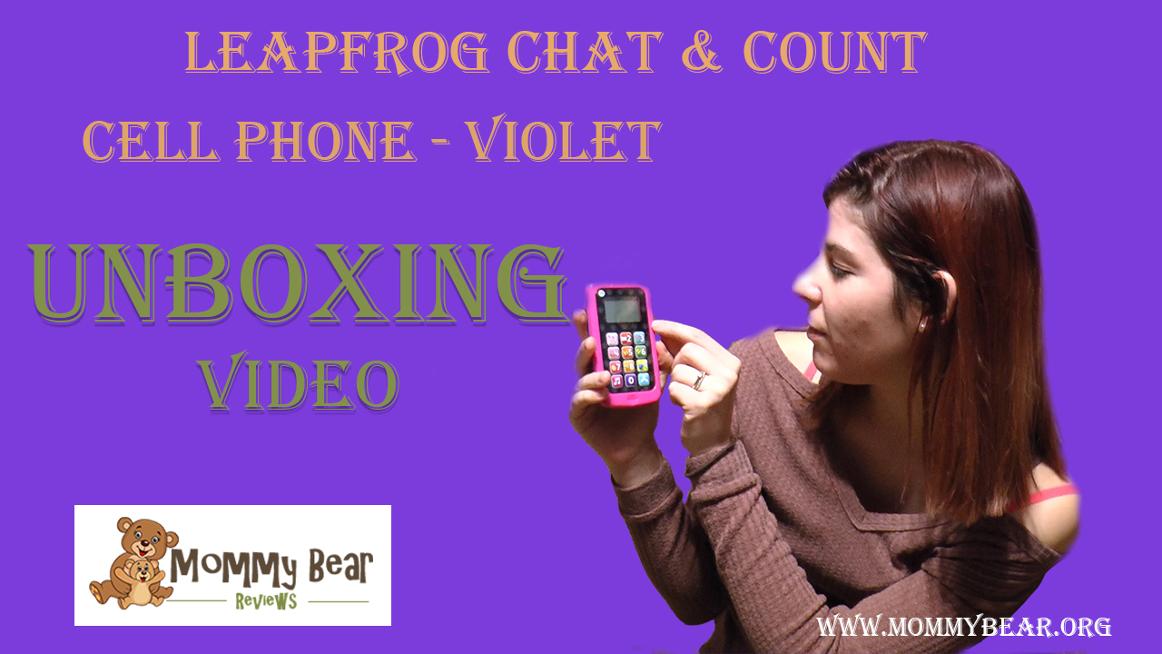 LeapFrog Chat and Count Cell Phone Violet Unboxing Video