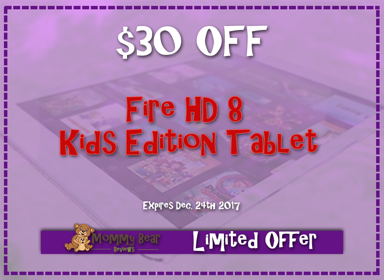 DEAL: Amazon Fire HD8 Kids Edition $30 OFF!