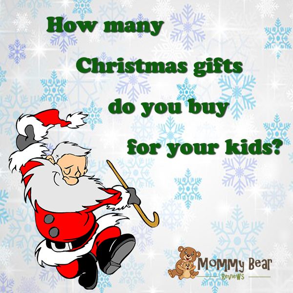 How many Christmas gifts do you buy for your kids?