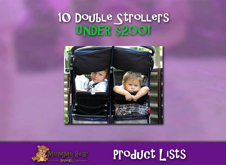10 Double Strollers Under $200