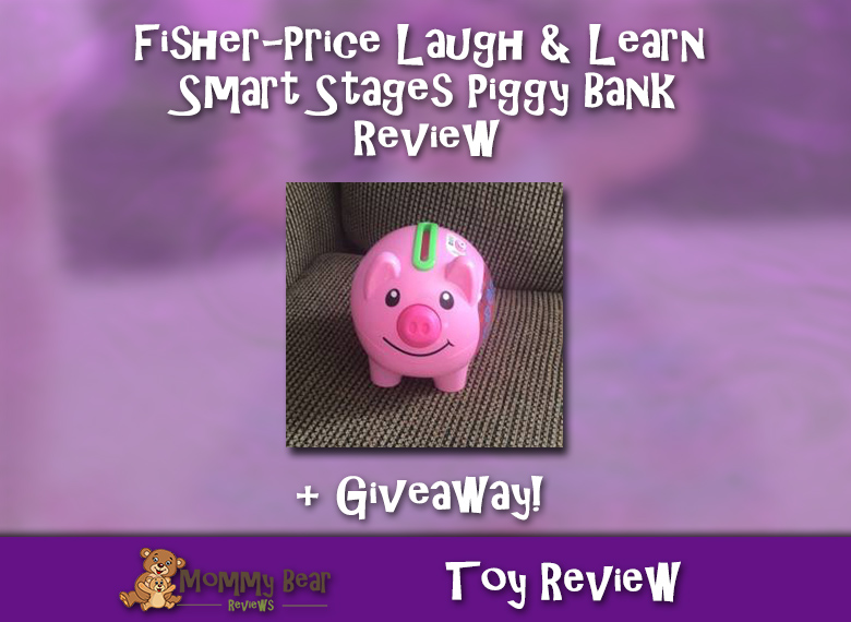 Fisher‑Price Laugh & Learn Smart Stages Piggy Bank