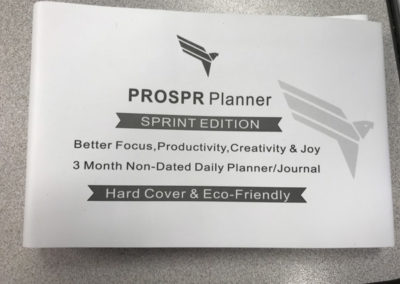 Prospr Planner Sprint Edition Features