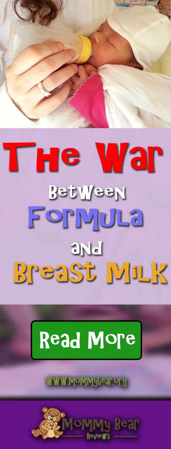 War Between Formula and Breast Milk
