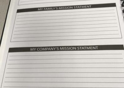 Mission Statements For Self Family and Business