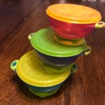 Suction Bowls with Lids
