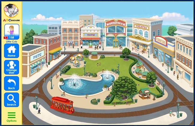 ABC Mouse Shopping Center