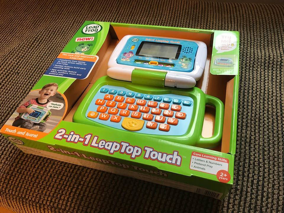 Long-Time Learning Fun With the LeapTop Touch