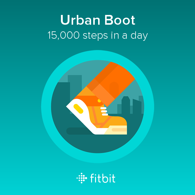FitBit Urban Boot Badge