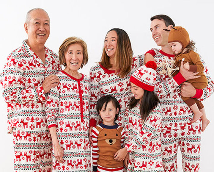 Deer Christmas Pajamas