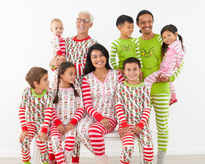 Grinch Matching Family Pajama Set