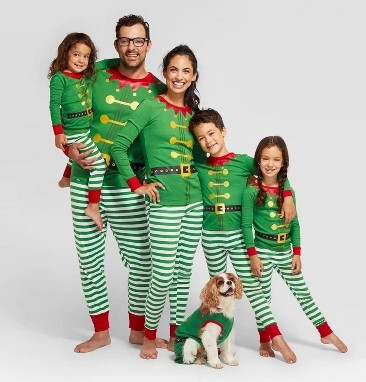 Holiday Family Elf Pajamas