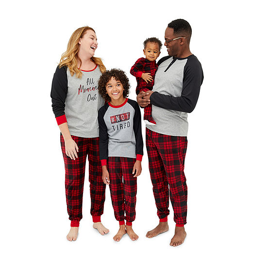Matching Red Flanel PJs