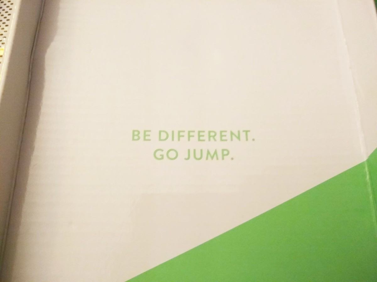 Be Different. Go Jump. Jump Rope.