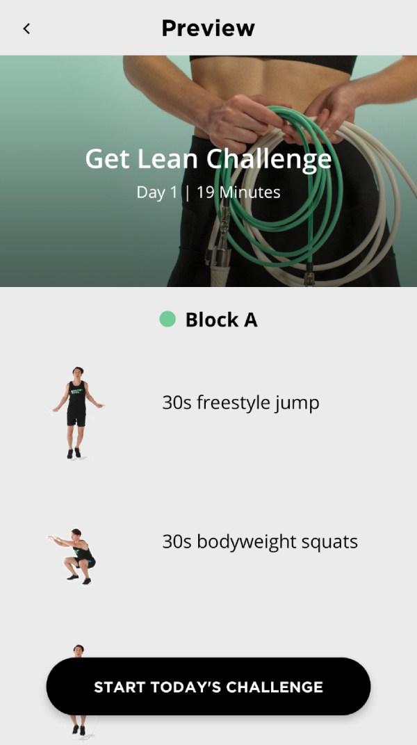 Get Lean Challenge Summary