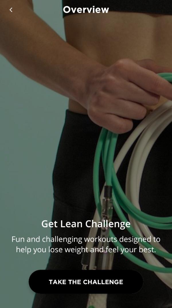 Get Lean Crossrope Challenge