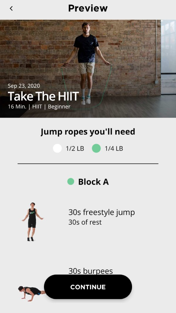 Take the HIIT Workout