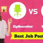 ZipRecruiter vs. LinkedIn: Where Should You Post Your Job Listings?