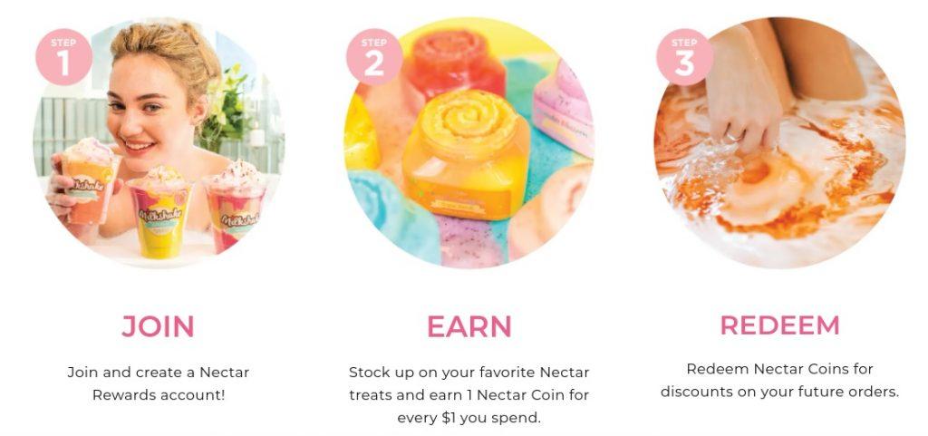 Nectar Bath Treat Rewards Program