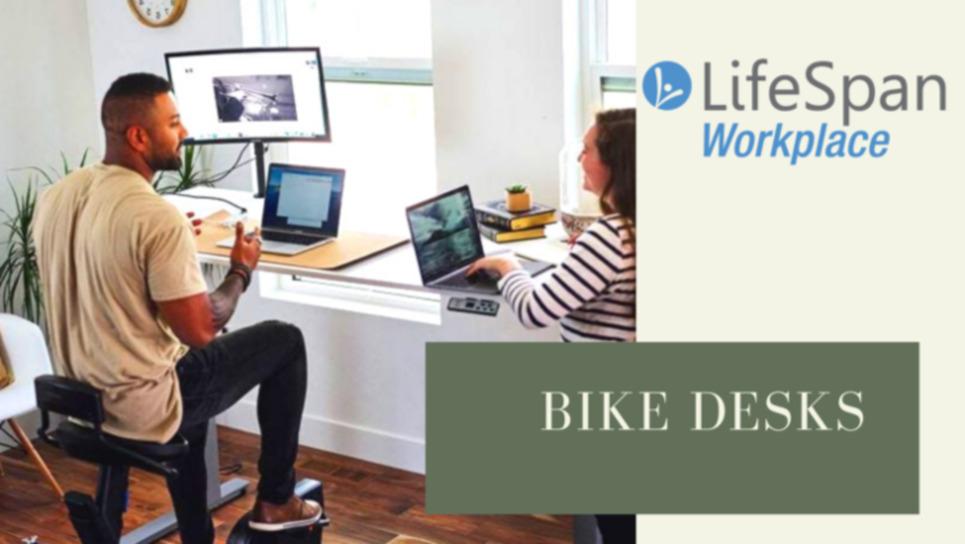 Workplace Bike Desks