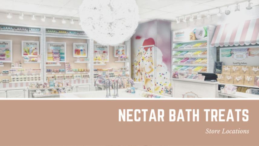 Nectar Bath Treats store locations
