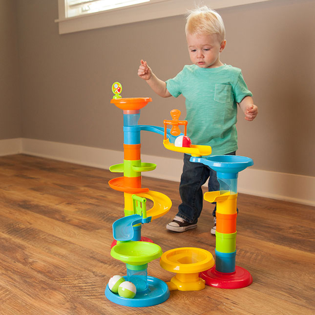 Building and Construction-Roll and Bounce Tower