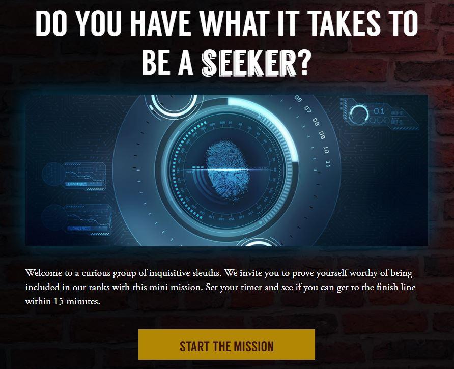 Finders Seekers Mission