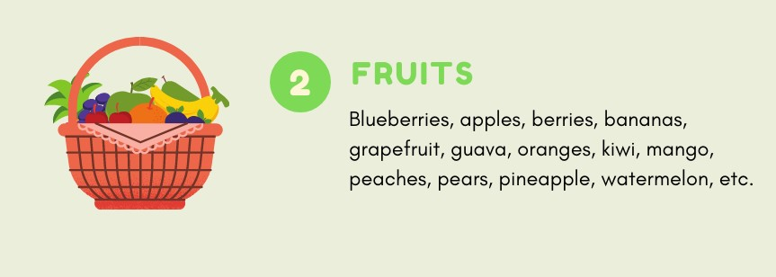 Fruits you can eat on Noom