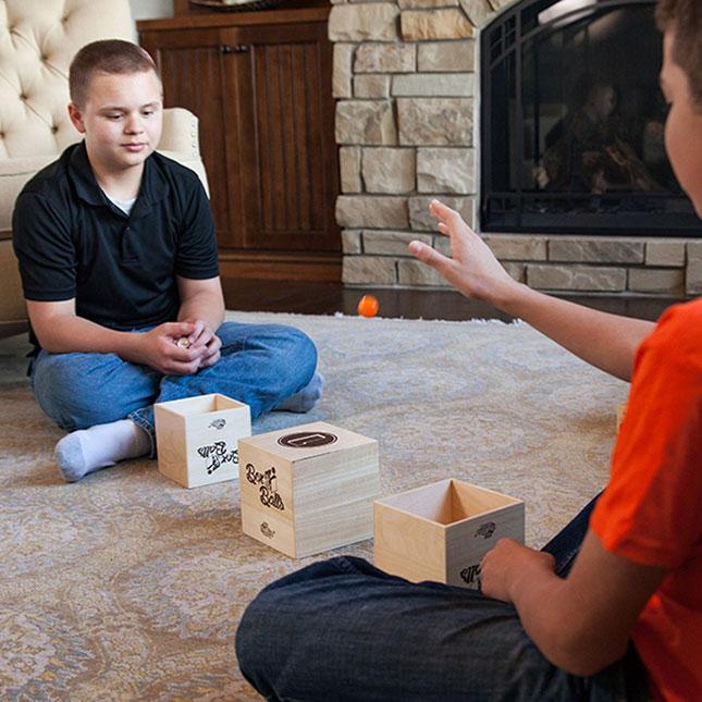Games-Box and Balls