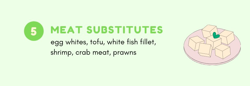 Meat substitutes you can eat on Noom