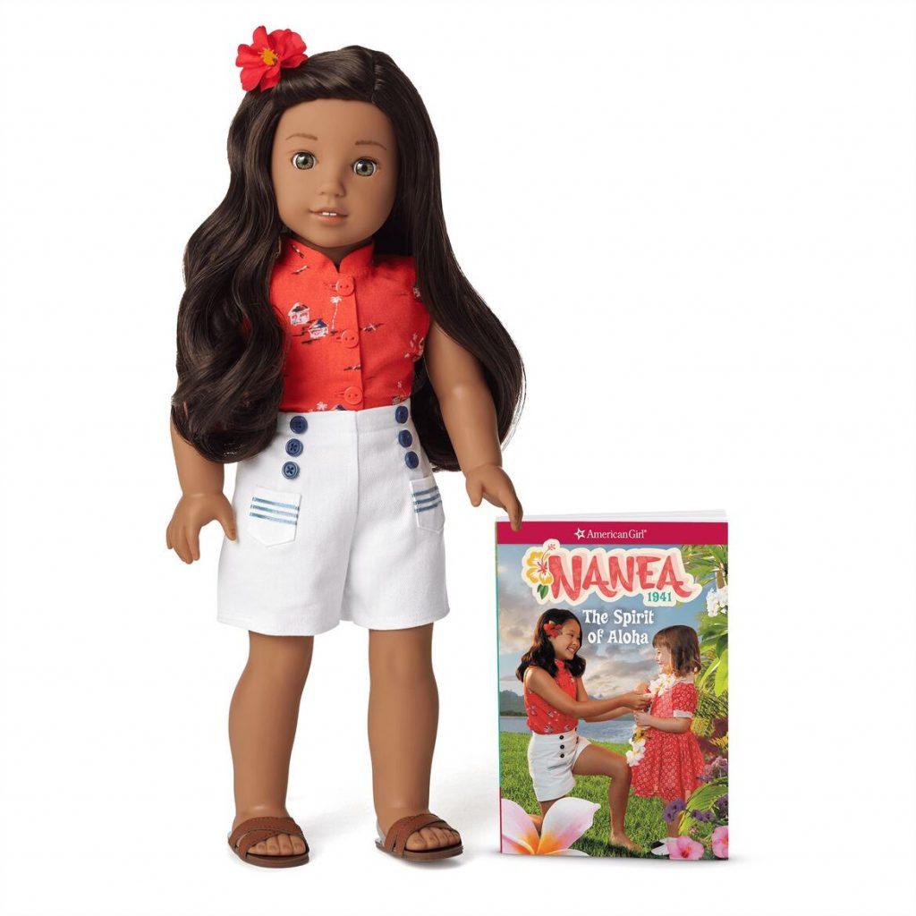Nanea Doll and Book