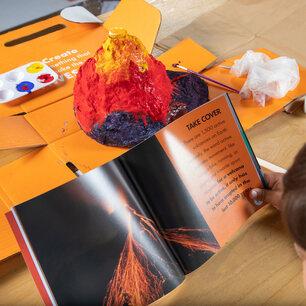 STEM toys-Surprise Ride - Build & Paint a Volcano Science Kit