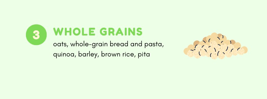 Whole grains you can eat on Noom