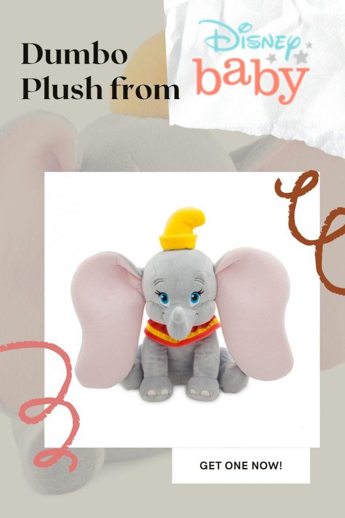 Dumbo Baby Plush