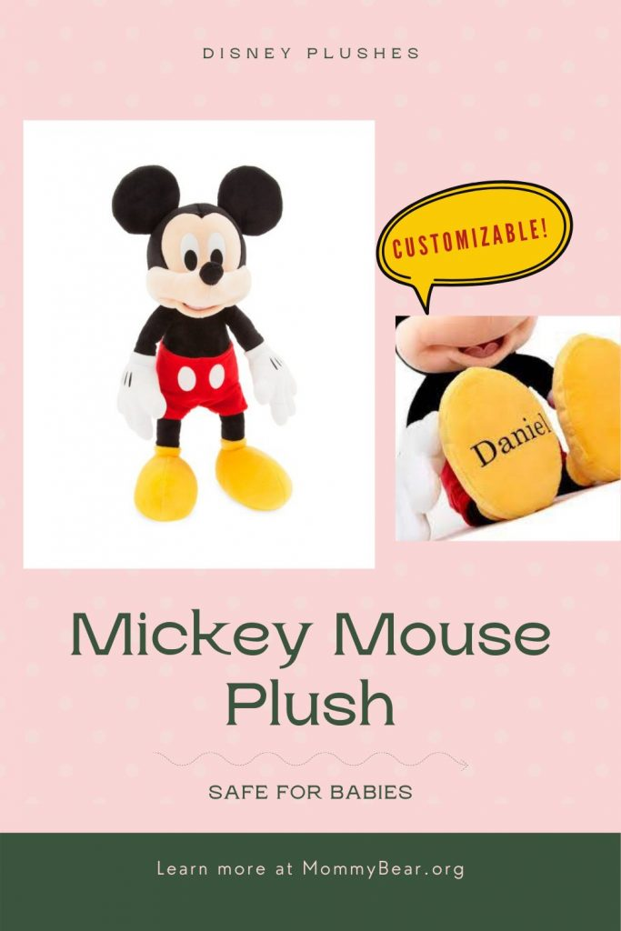 Mickey Mouse Baby Plush