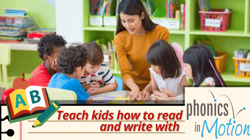 How Phonics in Motion Helps Kids Learn How to Read