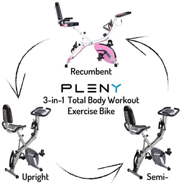 Pleny Exercise Bike Feature