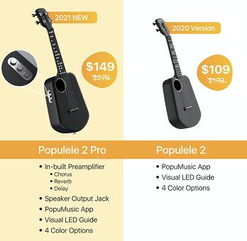 Populele 2 vs Populele 2 Pro